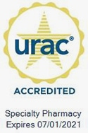 URAC Specialty Pharmacy Accreditation Seal
